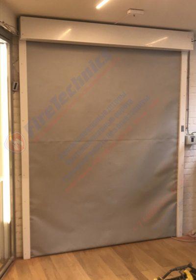 Рулонные противопожарные ворота (шторы) FireTechnics-EI60